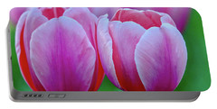 Two Tulips Portable Battery Charger