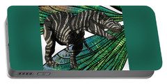 Tyrannosaurus Takes Wings Portable Battery Charger