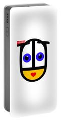uBABE Logo Portable Battery Charger