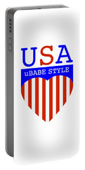 Ubabe Style America Portable Battery Charger