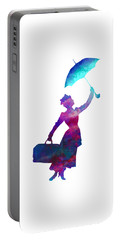 Umbrella Lady Portable Battery Charger