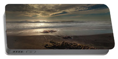 Portable Battery Charger featuring the photograph Under A Cambrian Sky by Tim Bryan