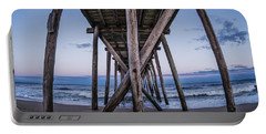 Portable Battery Charger featuring the photograph Under The Pier by Steve Stanger