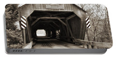 Union Village Covered Bridge Portable Battery Charger