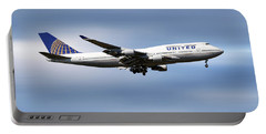 United Airlines Boeing 747-422 Portable Battery Charger