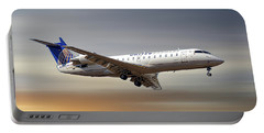 United Express Bombardier Crj-200lr Portable Battery Charger