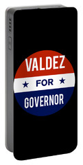 Valdez For Governor 2018 Portable Battery Charger