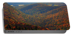 Portable Battery Charger featuring the photograph Valley Below Mount Greylock 2 by Raymond Salani III