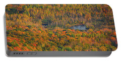 Portable Battery Charger featuring the photograph Valley From The Summit Of Mount Greylock by Raymond Salani III