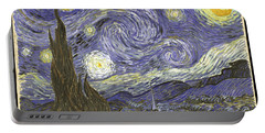 Van Goh Starry Night Portable Battery Charger