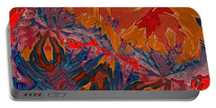 Portable Battery Charger featuring the digital art Van Mam by A zakaria Mami
