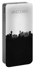Vancouver Cityscape Art Portable Battery Charger