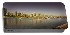 Vancouver In Magical Hours Portable Battery Charger