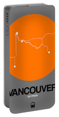 Vancouver Orange Subway Map Portable Battery Charger