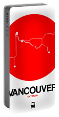Vancouver Red Subway Map Portable Battery Charger