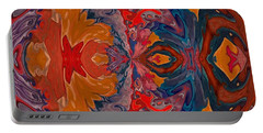 Portable Battery Charger featuring the digital art Vanlove by A zakaria Mami