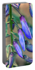 Wisteria Buds Portable Battery Charger