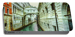 Venice Bridge Of Sighs Portable Battery Charger