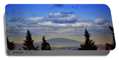 Portable Battery Charger featuring the photograph Vermont From Mount Greylock Summit by Raymond Salani III