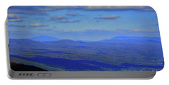Portable Battery Charger featuring the photograph Vermont From The Summit Of Mount Greylock 3 by Raymond Salani III