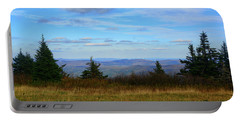 Portable Battery Charger featuring the photograph Vermont From The Summit Of Mount Greylock by Raymond Salani III