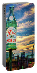 Vess Soda Bottle Portable Battery Charger