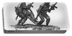 Vietnam Memorial Statue Portable Battery Charger