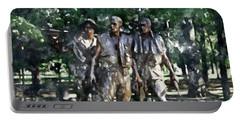Vietnam Veteran Memorial Portable Battery Charger