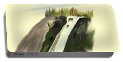 View Below The Falls Portable Battery Charger