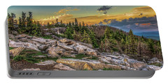 Portable Battery Charger featuring the photograph View From Dolly Sods 4714 by Donald Brown