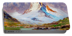 View Of The Matterhorn - Digital Remastered Edition Portable Battery Charger