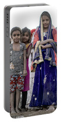Village Girls Portable Battery Charger