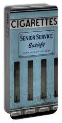 Senior Service Vintage Cigarette Vending Machine Portable Battery Charger