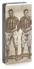 Vintage Football Heroes Portable Battery Charger