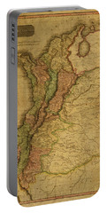 Vintage Map Of Columbia 1818 Portable Battery Charger