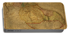 Vintage Map Of Guyana And Eastern South America 1818 Portable Battery Charger