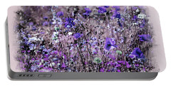 Violet Mood Portable Battery Charger