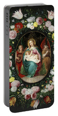 Flemish Painters Portable Battery Chargers