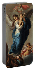 Virgin Of The Apocalypse Portable Battery Charger