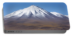 Volcano On The Altiplano Portable Battery Charger