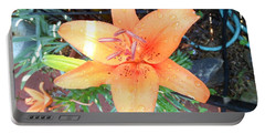 Waiting Lily  Portable Battery Charger