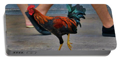 Walk Like A Chicken Portable Battery Charger