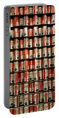 Wall Of Beer Portable Battery Charger