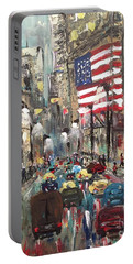 wall street NY Portable Battery Charger