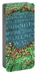 War Memorial Plaque Portable Battery Charger