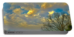 Warm And Cool Sky Portable Battery Charger