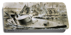 Warships From The American Civil War Portable Battery Charger