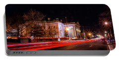 Portable Battery Charger featuring the photograph Washington Night by Travis Rogers
