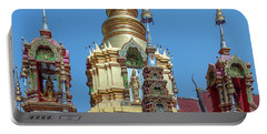 Wat Ban Kong Phra That Chedi Brahma And Buddha Images Dthlu0501 Portable Battery Charger