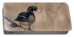 Watchful Wood Duck Portable Battery Charger